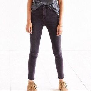 Black/Gray High Waist BDG Skinny Jeans (23-25)